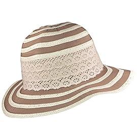 Damen Sonnenhut Hut Sommerhut knautschbar