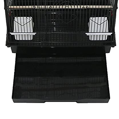 Oypla XL Large Metal Bird Cage Budgie Canary Finch Parrot Birdcage 6