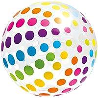 Intex-59065NP Pelota Hinchable, Lunares,, 107 cm (ColorBaby 59065)