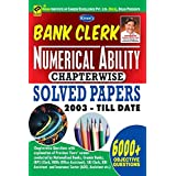 Kiran S Bank Clerk Numerical Ability Chapterwise Solved Papers 2003 Till Date 6000+ Objective Questions - 2374