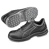 Puma Safety Shoes Clarity Low BLK S3 SRC, PUMA 640450-200 Unisex-Erwachsene Espadrille Halbschuhe, Schwarz (schwarz 200), EU 46