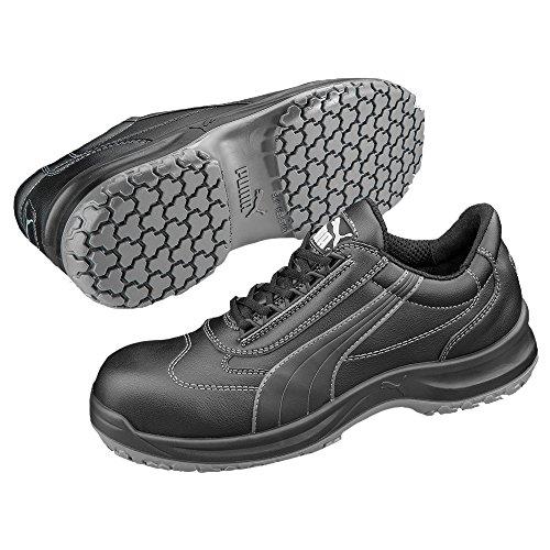 Puma Safety Shoes Clarity Low BLK S3 SRC, PUMA 640450-200 Damen Espadrille Halbschuhe, Schwarz (schwarz 200), EU 37 Blk Pu Shoe