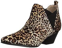 Qupid Womens Rhythm-15 Ankle Boot, Camel, 8.5 M US