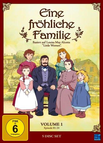 Vol. 1, Episode 1-24 (5 DVDs)