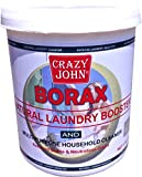 Crazy John 100% Pure With Whitening And Cleaning Borax Powder 1 Kg Pack