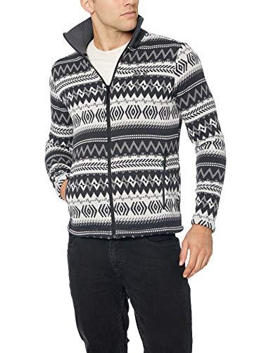 Jack Wolfskin Herren Nordic Jacket Men, Herren, Ebenholz, 3X-Large (Mens Winter Jackets 3x)