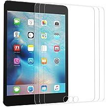 [3 Pack] Dexnor iPad Mini 4 Cristal Pantalla Clara Templado Protector de Vidrio, 9H Dureza 0.33mm Anti-rasguños HD Protector de Pantalla