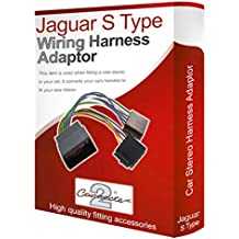Jaguar S-Type CD radio stereo wiring harness adapter lead loom ISO converter