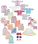 Baby Fly New Born Baby Gift Set Combo Pack of 7 Items for Newborn (0-6 Months)