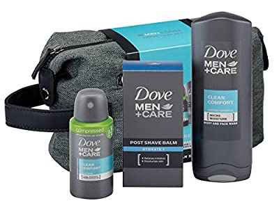Dove Men Plus Care Total Care Wash Bag Gift Set by Unilever