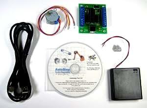 Mini Stepper Pack: Control a stepper motor from a PC