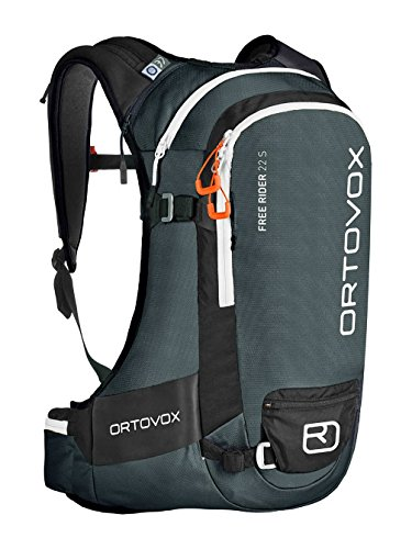 Ortovox Free Rider 22 S Rucksack, Black Anthracite, 30 x 52 x 15 cm, 22 Liter