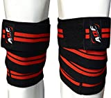 AQF Knee Wraps Weight Lifting Bandage Straps Guard Pads Powerlifting