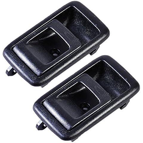 1 Par Negro Puerta interior de la manija interior delantero izquierdo trasero del lado derecho 6920610070A