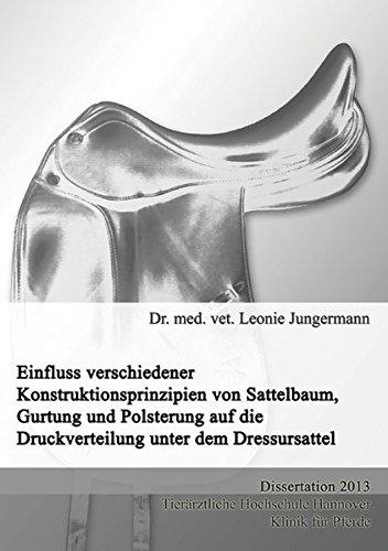 er Konstruktionsprinzipien von Sattelbaum, Gurtung und Polsterung auf die Druckverteilung unter dem Dressursattel ()