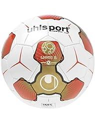 Uhlsport LIGUE 2TRAINING balón de entrenamiento blanco/rojo/oro, tamaño 5