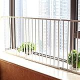 Türschutzgitter Sicherheitszaun Fenstergitter Geländer Baby Kinder Schutznetz Balkon Hochhaus, Höhe 75cm (Farbe : 4 Pieces)