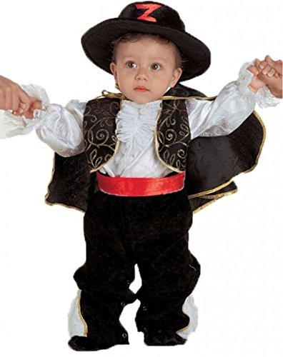 kreatives Kleinkinder Kostüm Zorro, Größe:62 (Super Kreative Halloween-kostüm Ideen)
