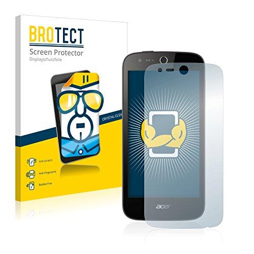 BROTECT Schutzfolie kompatibel mit Acer Liquid Z330 [2er Pack] klare Bildschirmschutz-Folie