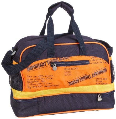 KangaROOS EDDIE travel bag B6026 Damen Bowlingtaschen 35x24x18 cm (B x H x T), Blau (dark navy 435)