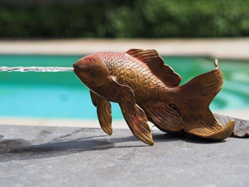 H. Packmor GmbH Bronzeskulptur Goldfisch