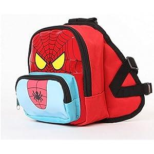 DELE Spider Man cachorro de perro de nylon mochila no Leash