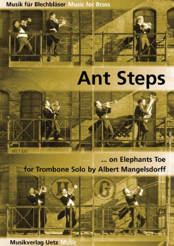 L Insalata Sotto Il Cuscino Pdf.Download Ant Steps On Elephants Toe For Trombone Solo Per Trombone