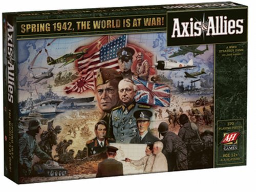 Milton Bradley Avalon Hill / Wizards of The Coast 25066 - Axis & Allies 1942