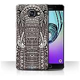 Coque de Stuff4 / Coque pour Samsung Galaxy A5 (2016) / éléphant-Mono Design / Motif Animaux Aztec Collection