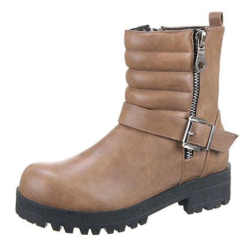 Cáqui Sapatas Senhoras Das Ir Boots 309 Ankle aAZ0fRa