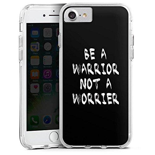 Apple iPhone 6s Plus Bumper Hülle Bumper Case Glitzer Hülle Motivation Fitness Workout Bumper Case transparent
