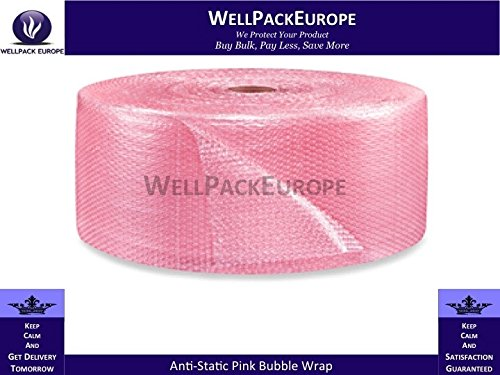 500-mm-x-100-m-pink-small-bubble-wrap-roll-rosa-1-x-rotolo-pluriball-next-day-uk-delivery-per-visual