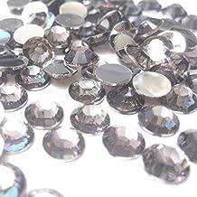 k2-accessories 1000pz piatto posteriore strass gemme/resina cabochon/biglietti/scrapbooking–KB0930/3mm grigio