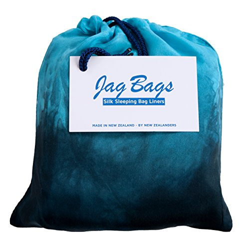 JagBag Standard Pure Silk Sleeping Bag Liner (Midnight)