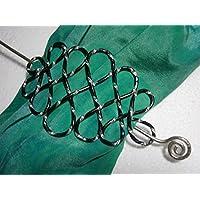 Tuchnadel Celtic Knot Alu in Farbe schwarz silber, Geburtstagsgeschenk, Weihnachtsgeschenk