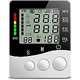 Monitor de Tensiómetro Toprime- B01 Silencio La Parte Superior del Brazo Monitor de Presion Arterial Automáticos Electrónicos Bolsa Suministrada de Lana
