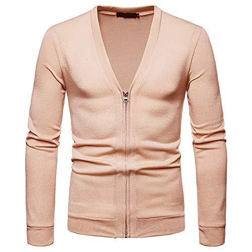 Togelei Herren Pullover Herren Herbst Winter Pullover Pullover Slim Jumper Strick Outwear Bluse...