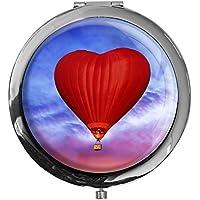 """metALUm - Extragroße Pillendose in runder Form""""Heißluftballon"""" preisvergleich bei billige-tabletten.eu"""