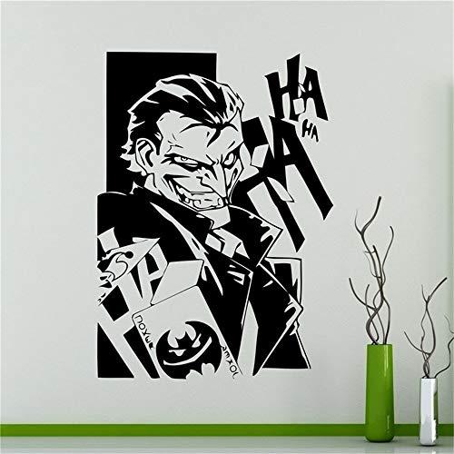 Wandaufkleber Schlafzimmer Batman Wall Decal Aufkleber Comics Joker Wall Vinyl Aufkleber Batman Sticker Superhelden Home Interior Art Decor Ideen Schlafzimmer Kinder