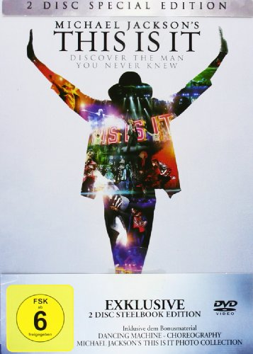 Michael Jackson's - This Is It - Special Edition / 2 Disc Steelbook Edition