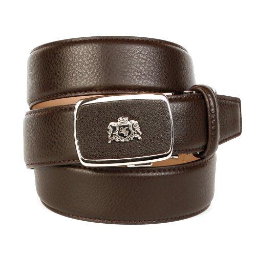 Anthoni Crown, ceinture homme 90-120cm, 3,5cm largeur brun 25cdb338a1f