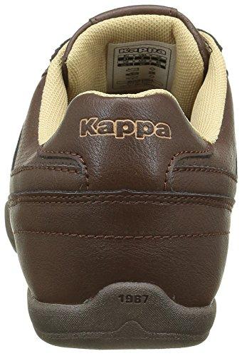 Kappa Viron, Baskets Basses Homme Marron (Dk Brown/Sand Wood/Bronze)