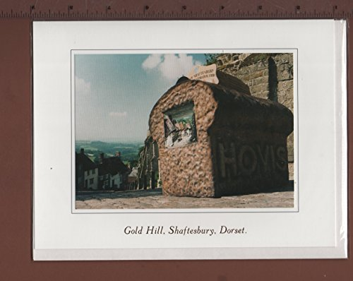 gc-sy1-6-x-greetings-cards-gold-hill-replica-hovis-loaf-shaftesbury-dorset-the-very-famous-steep-cob