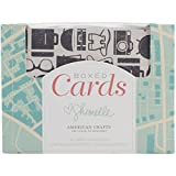 "American Crafts A2 Cards & Envelopes (4.25""X5.5"") 40/Pkg-Shimelle"