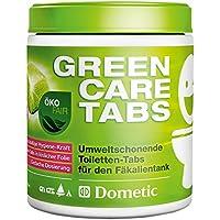 Dometic GreenCare Tabs, Umweltschonender Sanitär-Reiniger für Camping-WC, Fäkalien-Tanks, Chemie-Toilette 16 Tabs