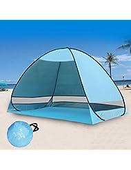 Beach Sun Abris, portable, Super Grande tente, 200cm*130cm*120cm Tente pop up pour plage Voyage Sports Pêche
