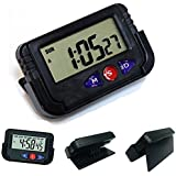 CPEX Digital Lcd Alarm Table Desk Car Calendar Clock Timer Stopwatch
