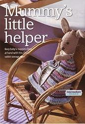 Mummy's Little Helper Baby's Toy Rabbit Nappies Storage Case Knitting Pattern: Meaurementa 28cm 11