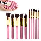 Usado, Sunroyal® Make Up Set de Brochas 10 Pcs Cepillo del segunda mano  Se entrega en toda España