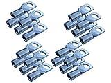 4x Batterie-Kabel Press-Ring-Öse-Schuh 16 mm² qmm-M8 verpressen löten